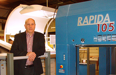 KBA Rapida 105 press at Four Star Color