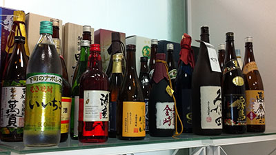 Takakuwa rice wine labels