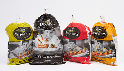 Downey Potato Farm bags
