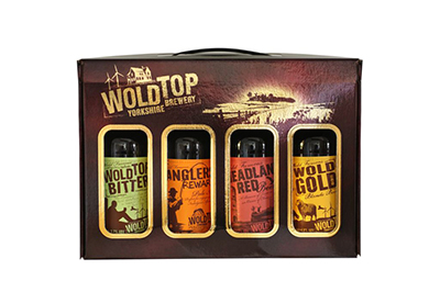 Wold Brewery packaging